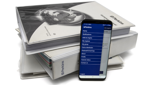 Everything you need to manage your engine, all in the palm of your hand.